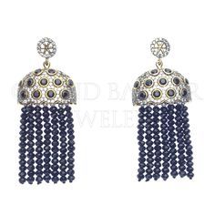 Gemstone Tassel Beaded Fringe Earrings   #DESIGNER #TURKISH #Jewelry #JOTD #Handmade by #Jewelers & #Artisans of the #Grand #Bazaar in #Istanbul #Turkey #GBJ1455 #shop #online #GrandBazaarJewelers.com