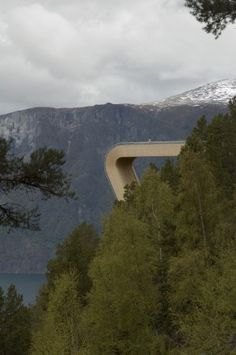 aurland look out by saunders arkitektur & wilhelmsen arkitektur. NORWAY.
