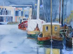 Hanse Sail – als Fotos und Aquarelle Hanse Sail, Seaside Theme, Watercolour Painting, Watercolors, Watercolor Ideas, Museum, Am Meer, Baltic Sea, Love Pictures