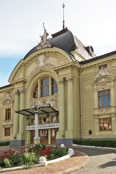 Music and Drama Theatre. O.Kobylyanskoy Chernivtsi Ukraine