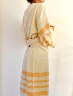 Peshtemal Bath Robe Kimono Robe Caftan by ecofriendlybeauty, $70.00