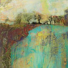 Surrey Artists' Open Studios - Instagram Post Collage Art Mixed Media, Mixed Media Painting, Love Painting, Abstract Landscape Painting, Landscape Paintings, Abstract Art, Landscapes, Creative Diary, Contemporary Landscape