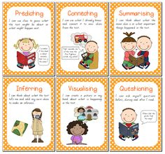 Lifelong Learners in Prep has some great reading comprehension strategy posters