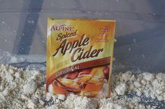 Apple Cider Cloud Dough
