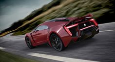 The First Arab Supercar: The MEAN Lykan Hypersport