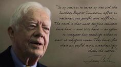 Jimmy Carter on why he left his Church