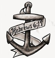 hope anchors the soul tattoo