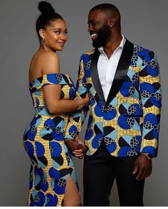 Latest Embellished African Fashion Fitted Dresses, Skirts and Jumpsuits for Weddings at Diyanu Couples African Outfits, African Dresses Men, African Tops, African Clothing For Men, African Shirts, Couple Outfits, African Attire, African Wear, African Style