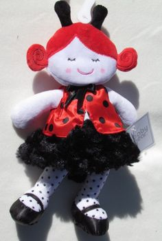 Baby Gear 'Ladybug' Plush Doll-- So Cute!