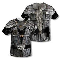 Star Trek Shirt Klingon Uniform Sublimation Shirt Front/Back Print - Star Trek Klingon Costume Sublimation Shirts