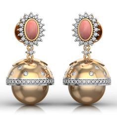 Best Online Diamond Jewellery store in India. Buy Earrings, Gold Earrings, Diamonds And Gold, Pearls, Random, Stuff To Buy, Shopping, Jewelry, Gold Stud Earrings