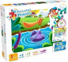 """Acá está el segundo modelo que te queremos mostrar de la nueva línea de """"Personal Puzzles"""": El Pato!"""