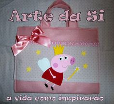 sacola de atividades peppa pig