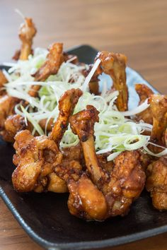 Fried chicken is one of my favorite foods, and this week over at PBS Food I show you how to make a lighter Asian style fried chicken. By butterflying the drumlettes, it not only makes them fry up faster, it makes them easier to eat. Coated with a crisp layer of potato starch that soaks …