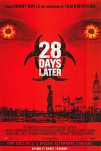 28 Days Later. Not a sequel.
