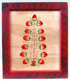 tree of strawberries