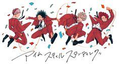 Characters: Todoroki Shouto, Midoriya izuku, Katsuki Bakugou, Kirishima Eijirou