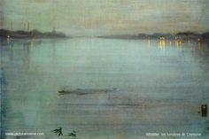 James Abbott McNeill Whistler (July 10, 1834 – July 17, 1903)