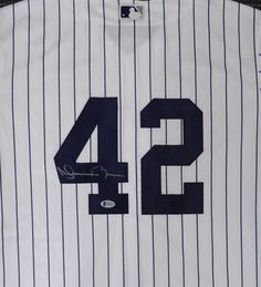 c6ff06f5f Mariano Rivera Autographed Signed New York Yankees Majestic Jersey BECKETT