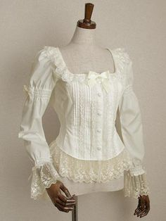 Lolibrary | Mary Magdalene - Blouse - Fleur Tulle Lace Blouse
