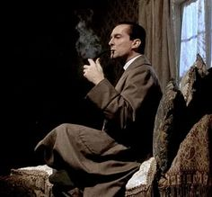 Jeremy Brett as Sherlock Holmes in The Man with the Twisted Lip.