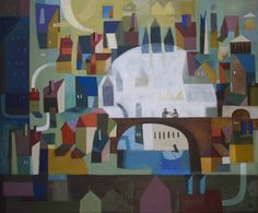 paintings - felicita sala -- this is charming!