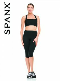 Shapewear. Spanx Active Bottoms Shaping Compression Knee Pant from Alex Blake - The Online Hosiery Store.  Grab yours at http://shrsl.com/?~4vog  $114.40