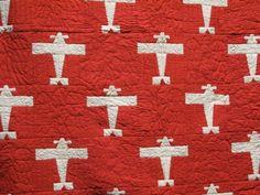 Airplane pattern quilt