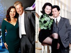 THE NANNY'S MISS FINE & MR. SHEFFIELD The flashy girl from Flushing and her British employer-turned-husband (a.k.a. Fran Drescher and Charles Shaughnessy) found each other again on March 18, 2015, at the opening night of her Cinderella the Center Theatre Group in L.A. Needless to say, when Drescher shared a pic of the two on Twitter, Nanny fans went nuts.