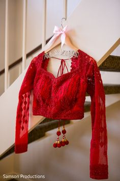 Red Lengha Blouse http://www.maharaniweddings.com/gallery/photo/77658