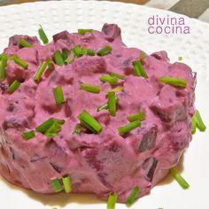Esta receta de ensalada de patatas alemana (kartoffelsalat) tiene variantes según la zona donde se prepara. Aquí tienes la receta y vídeo-receta fácil.