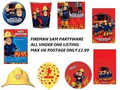fireman sam party goods Fireman Birthday, 3rd Birthday, Birthday Ideas, Birthday Parties, Fireman Sam, Party Goods, Childrens Party, Best Part Of Me, Baby Items