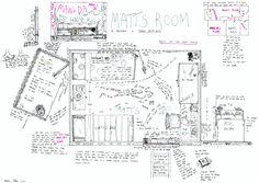Mitch Miller, Matt's room