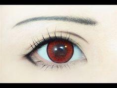 Tutorial : Anime Eye Makeup 95 • Nase Mitsuki