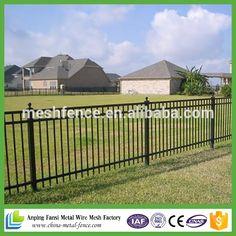 1500mm 2400mm 3 cercas hierro forjado ferrocarril utilizados para la venta en vallado - Cercas Metalicas
