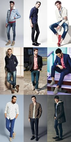 Men's Desert Boot Lookbook