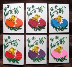Easter quilling!