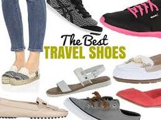 2020 Guide To The Best Shoes For Travel (Plus Tips For Picking The Best Travel Shoes Buying the best shoes for travel is a tricky task. We've taken our years of experience and made this post about tips for picking the best travel shoes. Travel 2017, Travel Wear, Travel Style, Travel Bags, Travel Fashion, Usa Travel, Best Shoes For Travel, Travel Shoes Women, Travel Clothes Women