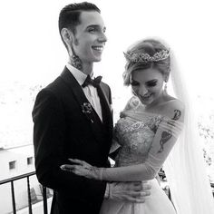 Beautiful picture of Andy and Juliet ❤