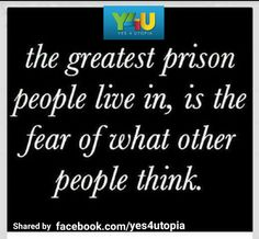 Set Your Soul and Mind Free.  Don't Be The Prisoner You've Always Been.  #Psychology #Quotes #Y4U #YES4UTOPIA