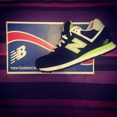 New Balance 574  @chanelgavigan