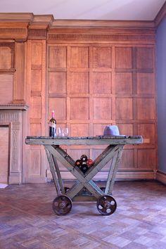 Usine industrielle Die chariot chariot Bar par ScoutandForge