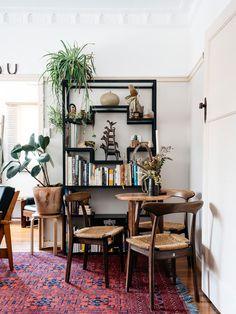 The Brisbane apartment of Nicolette Johnson and Tom Dawson. Photo – Nicolette Johnson.
