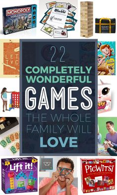 22 Awesome Games You'll Love Playing With Your Family