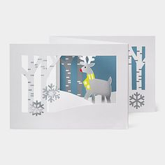 pop up over the river 3d holiday cards products pinterest moma free shipping and products - Moma Holiday Cards