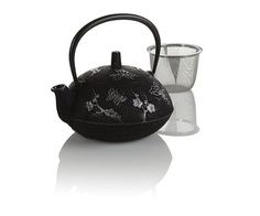 Butterfly Cast Iron Teapot from Teavana    SO pretty.  Would buy it in a heartbeat if it wasn't so expensive.