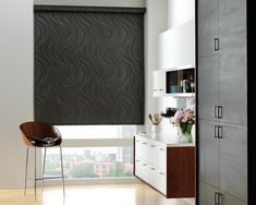 Looking for Designer Roller Shades? Skyline Window Coverings offers Hunter Douglas Roller Shades bring sleek design & amazing function to your home. Hunter Douglas, Contemporary Window Treatments, Blackout Shades, Modern Family Rooms, Solar Shades, Window Styles, Window Coverings, A Boutique, Colors