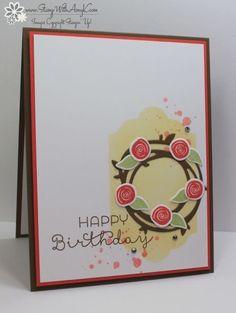 Stampin' Up! Swirly Bird Birthday