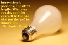 "Quote from ""Who Put the 'No' in Your Innovation?"" #Innovation"