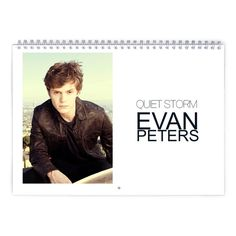 Evan Peters  Quiet Storm Calendar by MovieShop on Etsy